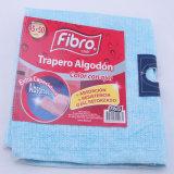 100%Cotton極度の水およびオイルの吸収性のピンクか青い床の清拭布
