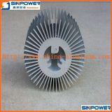 Quente! 6061 T5 expulsaram o perfil de alumínio para o dissipador de calor/alumínio de alumínio do radiador do dissipador de calor/OEM para o dissipador de calor do diodo emissor de luz