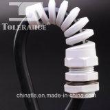 Presse-étoupe de câble en nylon de spirale de connecteur de fil