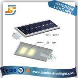 10-45W todo em luzes de uma rua solares do diodo emissor de luz