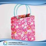 Sac de transporteur de empaquetage estampé de papier pour les vêtements de cadeau d'achats (XC-bgg-033)