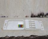 Caixa plástica da bolha da parte superior (caixa de embalagem da bolha do ANIMAL DE ESTIMAÇÃO)