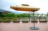경사 기계장치와 선전용 안뜰 우산
