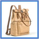 若者のデザインによってカスタマイズされるDu Pontのペーパー偶然の学校のバックパック袋、熱い昇進のTyvekのペーパーハンド・バッグのショッピングトートバック