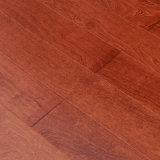 Teca 910X125X15m m del suelo de madera sólida con la superficie plana Ly04