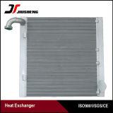 Refrigerador de petróleo de alumínio soldado da máquina escavadora da barra e da placa para Doosan