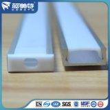 Perfil de LED de extrusão de alumínio anodizado personalizado da série 6000