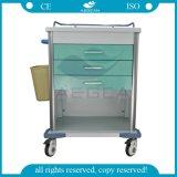 AGMt034引出しの価格の移動式安い病院のトロリーカート