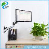 Inclinaison réglable d'accessoires informatiques de Jeo Ys-Ga12W et canalisation verticale de moniteur d'émerillon