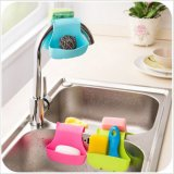 Creative Home Kitchen Soap Box Silicone Storage Box Holder Sink Organizer