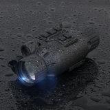 Observatório Militar Caça tática Recarregável 3X32 Escopo de visão noturna com visor Monocular Telescópio Combo com lâmpada infravermelha Picatinny Rail Mount 27-0021