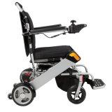 Sillón de ruedas de aluminio de la potencia del recorrido de la batería de litio para lisiado y los ancianos