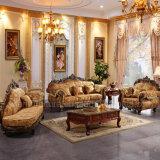 Sofà domestico con il blocco per grafici del sofà e la Tabella di legno dell'angolo (D929Y)