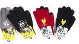 De leuke Handschoenen van de Winter van Jonge geitjes met Afgedrukte het Karakter van het Beeldverhaal