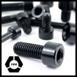 Schwarze Stahlallen-Schrauben-/Hex-Kontaktbuchse-Kopfschraube DIN912