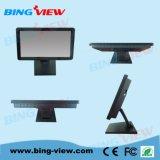 """"""" pantalla de monitor comercial del tacto de la posición de Pcap del diseño plano verdadero 15"""