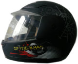 A segurança barata da motocicleta da face cheia caçoa capacetes da criança