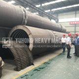 Estufa giratória de Yuhong para lixo ardente da vida de cidade