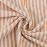 Органической напечатанная хлопко-бумажная тканью органическая оптовая продажа хлопко-бумажная ткани для одежды младенца
