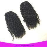 Волосы 100% девственницы человеческих волос Kinky курчавые малайзийские