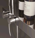 Faucet fixado na parede do chuveiro da temperatura constante da alta qualidade