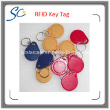 Indicateur de clé d'IDENTIFICATION RF de l'ABS bon marché LF 125kHz/Hf 13.56MHz avec la couleur multi