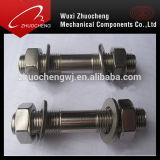 合金鋼鉄重いA193 B7 HDGスタッドのボルト