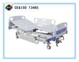 (A-55) Cama de hospital manual Double-Function movible con la pista de la base del ABS