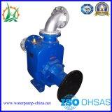Bomba de escorvamento automático aberta do diesel do reboque da água de esgoto do impulsor