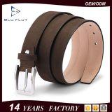 Cinghie reali degli uomini del cuoio della mucca dell'inarcamento di abitudine 35mm dell'annata d'acciaio di modo