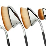 Gros meilleur golf cosmétique multifonctionnel de vente de Nana concevant des brosses de lecture de Travlling de balai de poudre de balai de renivellement