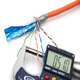 Cable del cable de LAN/del gato 5e de la red Cable/UTP (A.C.)