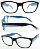 Marco óptico común listo del acetato de la alta calidad del ojo de gato