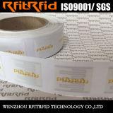 Etiqueta engomada inalterable destructible de la etiqueta del parabrisas de la frecuencia ultraelevada RFID de la muestra libre para la identificación del vehículo