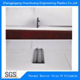 Tiras da poliamida da isolação térmica usadas no indicador e na porta de deslizamento