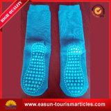Calcetines cómodos de la línea aérea de los calcetines de los calcetines de aviones de aviones baratos del surtidor