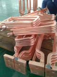 La granja de la inducción de la frecuencia de Superaudio del precio bajo filetea el equipo caliente 80kw de la forja