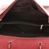 Forme el bolso del mango de la tapa del cuero genuino Bolso de hombro del totalizador del hombro de las mujeres