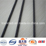 Tipo drenado Xindadi alambre de acero del alambre del espiral de la alta calidad