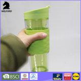 double tasse en plastique de course du mur 480ml