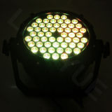 54X3W RGB 3in1 PAR IP65 impermeable del LED