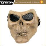 La pleine face réglable tactique d'Airsoft protègent le masque de sûreté de crâne de la mort