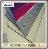 El panel compuesto de aluminio de PVDF adornó el panel compuesto incombustible material
