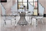 角度によっては使用されるホテルのための王女ステンレス鋼フレームの椅子が飛ぶ