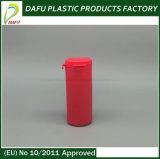 frasco plástico dos doces da forma redonda do PE 25ml