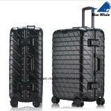 Mala de transporte de alumínio Tsa Travel Trolley Suitcase with Wheels