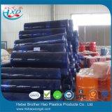 лист PVC толщиного качества еды 1mm супер ясный мягкий голубой гибкий