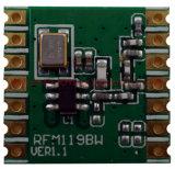 Alto modulo di trasmettitore senza fili del Secondario-Gigahertz rf di kilobits Rfm119b rf di tasso di dati 300/40