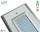 Cer 50W u. RoHS Diplom-integrierter LED Solargarten des PIR Fühler-/Straßenlaterne