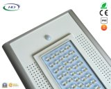 50W 세륨 & RoHS에 의하여 증명서를 주는 PIR 센서 통합 LED 태양 정원 또는 가로등